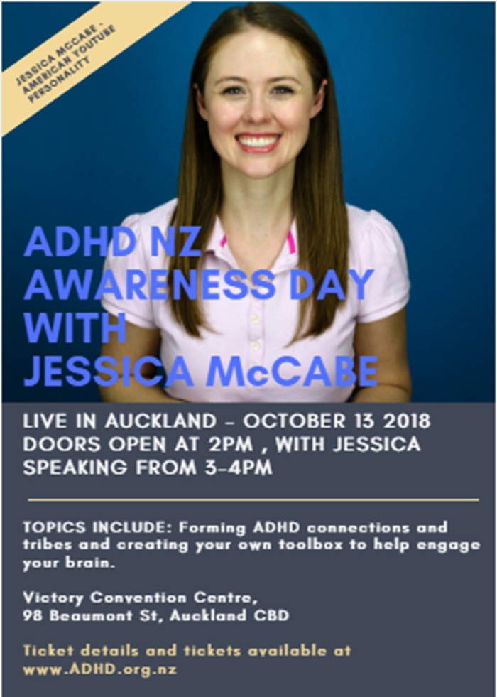ADHD NZ Awareness Day with Jessica McCabe | Totally Psyched